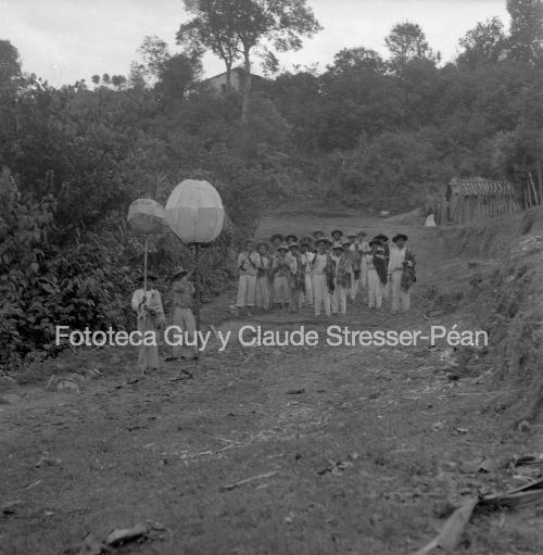 Calenda en Santiago Yaitepec. 1956.