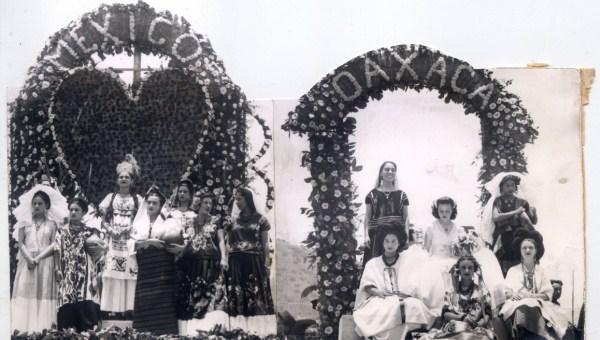 Trajes tradicionales. Guelaguetza 1940